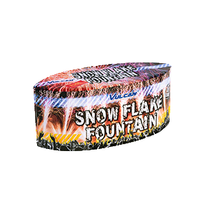 1194 snow flake fountain